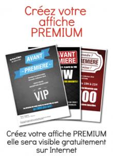 AVANT PREMIERE Affiche Premium