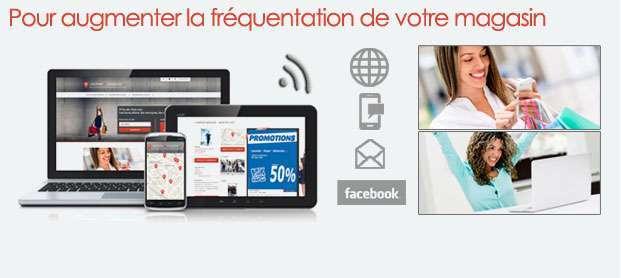Informez vos clients sur Internet, les réseaux sociaux, par E-mails et SMS… en quelques clics